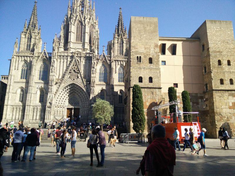 El Gotico Barcelona zentrale Kathedrale
