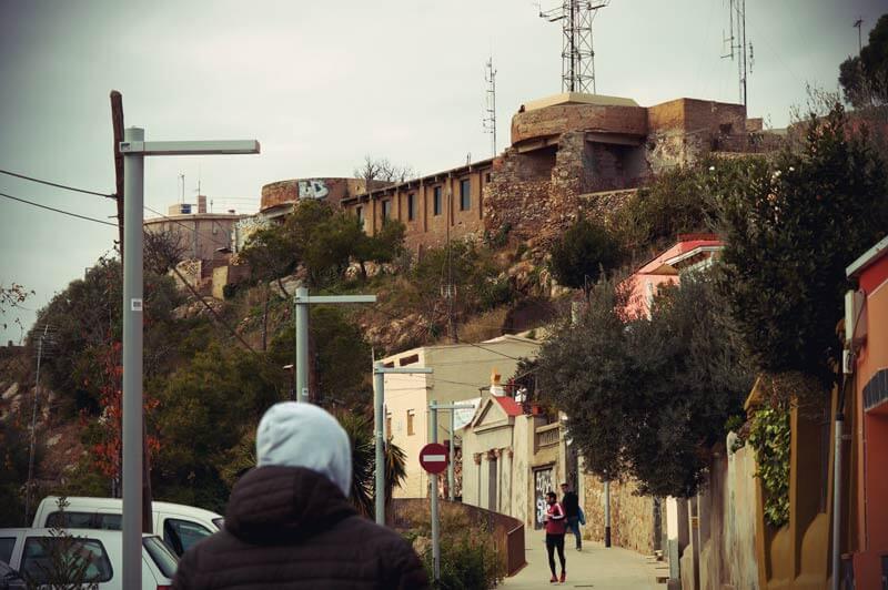 Bunkers del Carmel in Barcelona