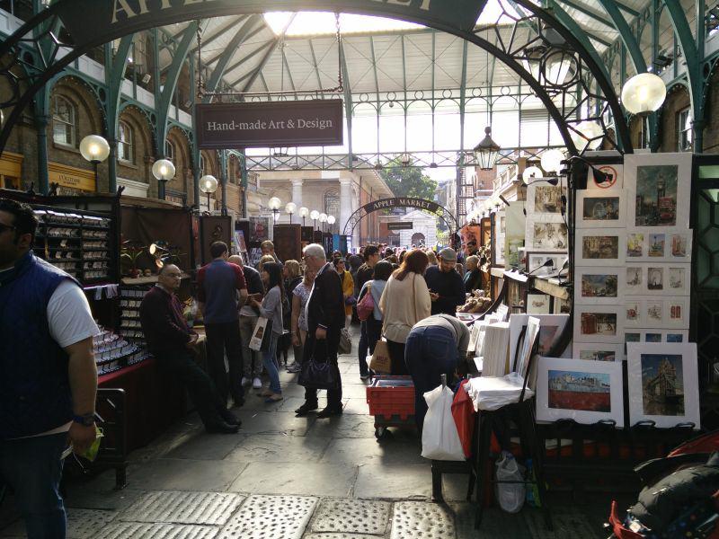 Apple Market in Covent Garden