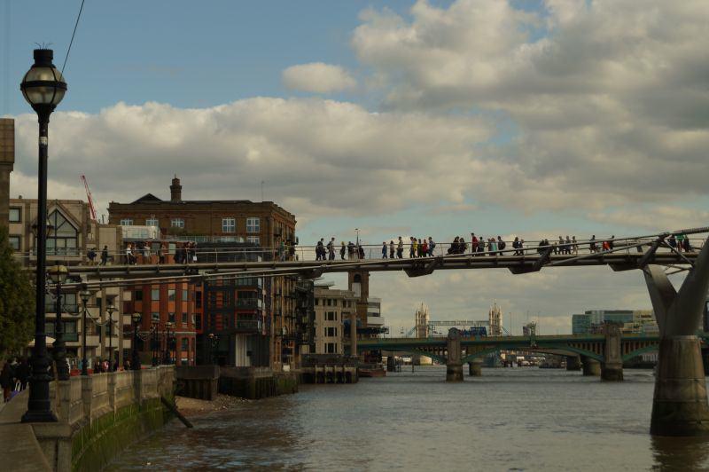 Blick von der Themse