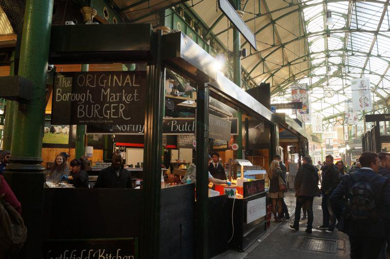 Blick in den Borough Market