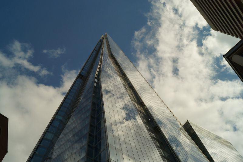 Die Illuminaten wären neidisch: Der Wolkenkratzerkoloss The Shard