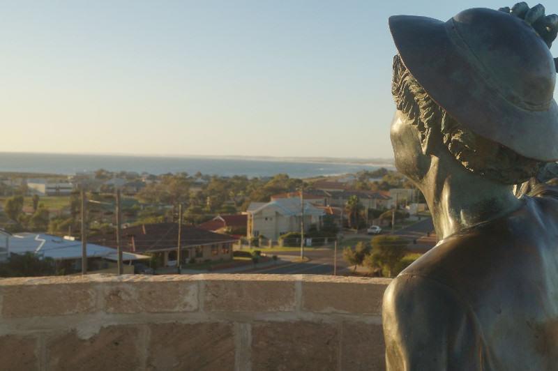 Westküste Australien: HMAS Sydney Memorial Geraldton Australien