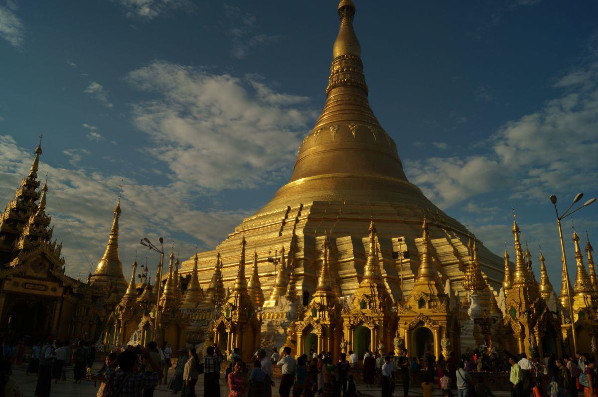 Myanmar Land der 1000 Pagoden Shwedagon