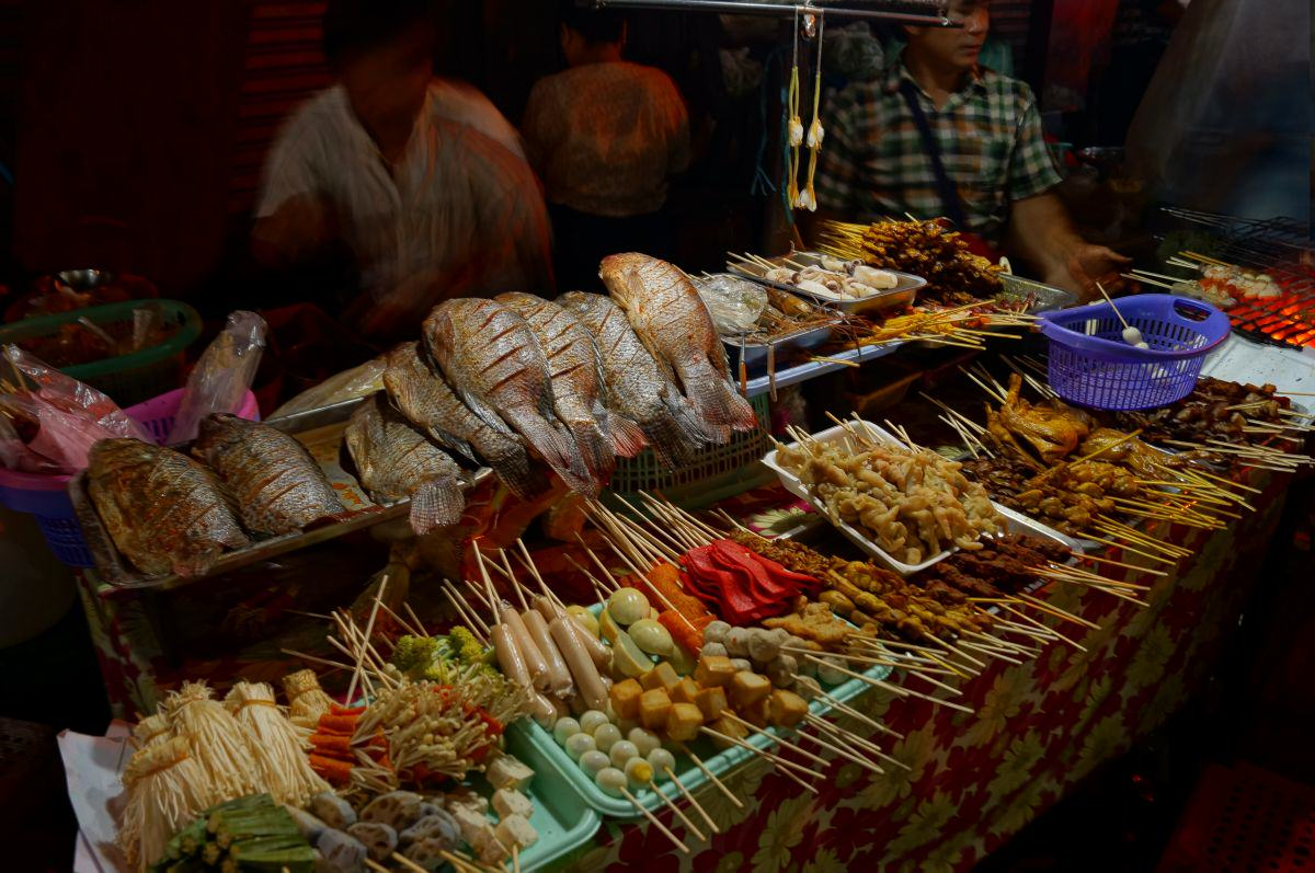 yangon chinatown barbeque