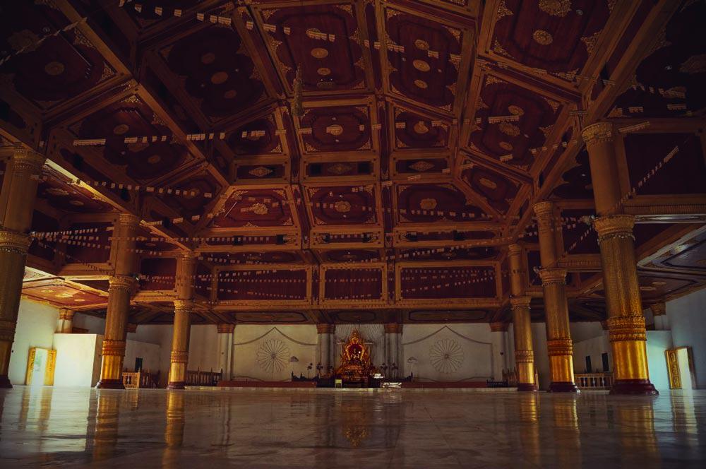 Atumashi kloster von innen