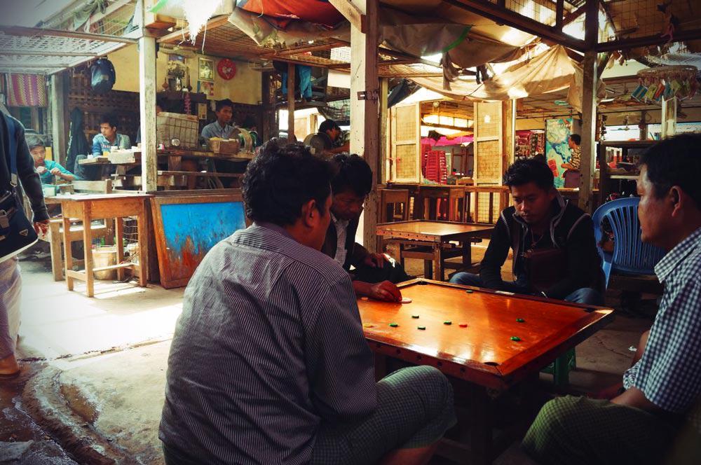 Jademarkt in Mandalay