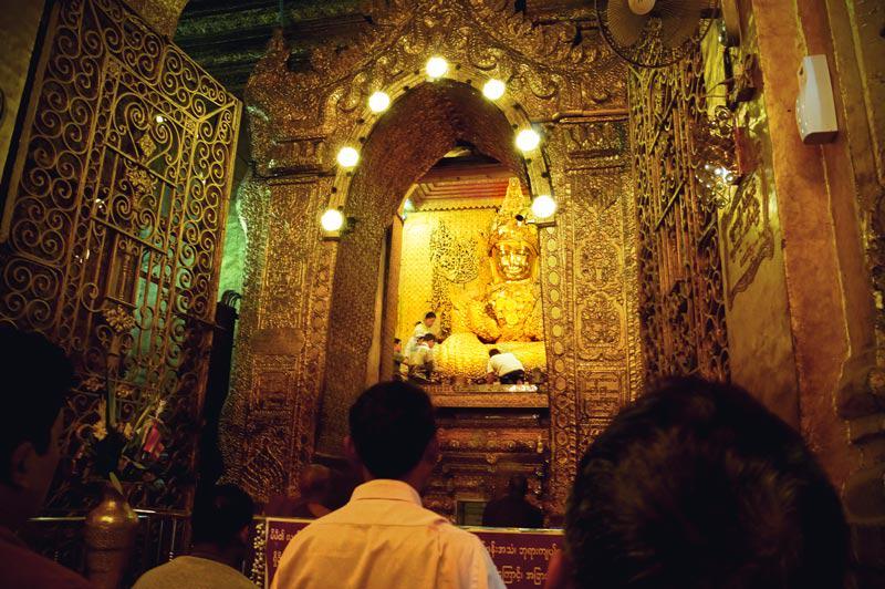 Eingang zur Mahamuni Buddha Statue