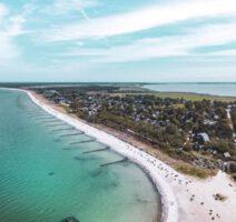 Baltic Sea ahrenshoop birdsview