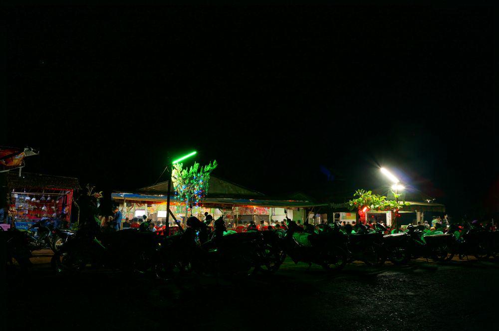 Ngwe Saung Beach Fernsehabend