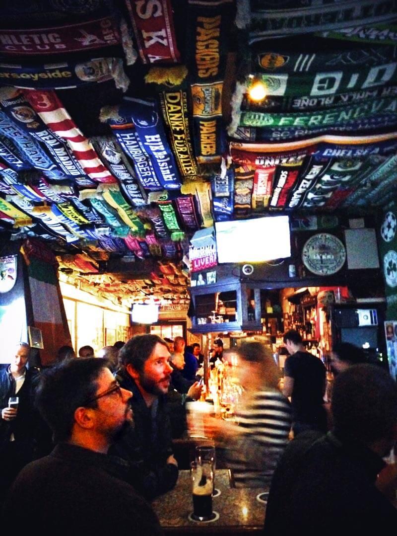 Irish Pub Fattys in Düsseldorf