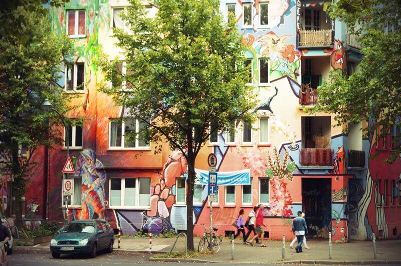 Kiefernstraße in Düsseldorf
