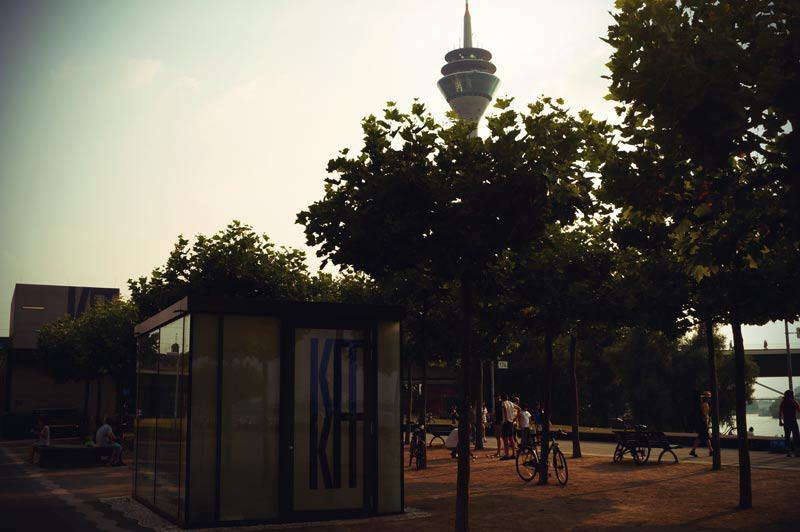 Kunst im Tunnel in Düsseldorf
