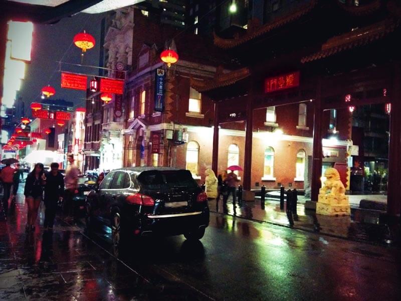 Chinatown Melbourne Australien