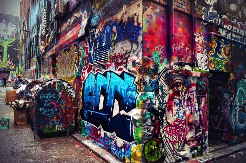 Hosier Lane Streetart Grafitti