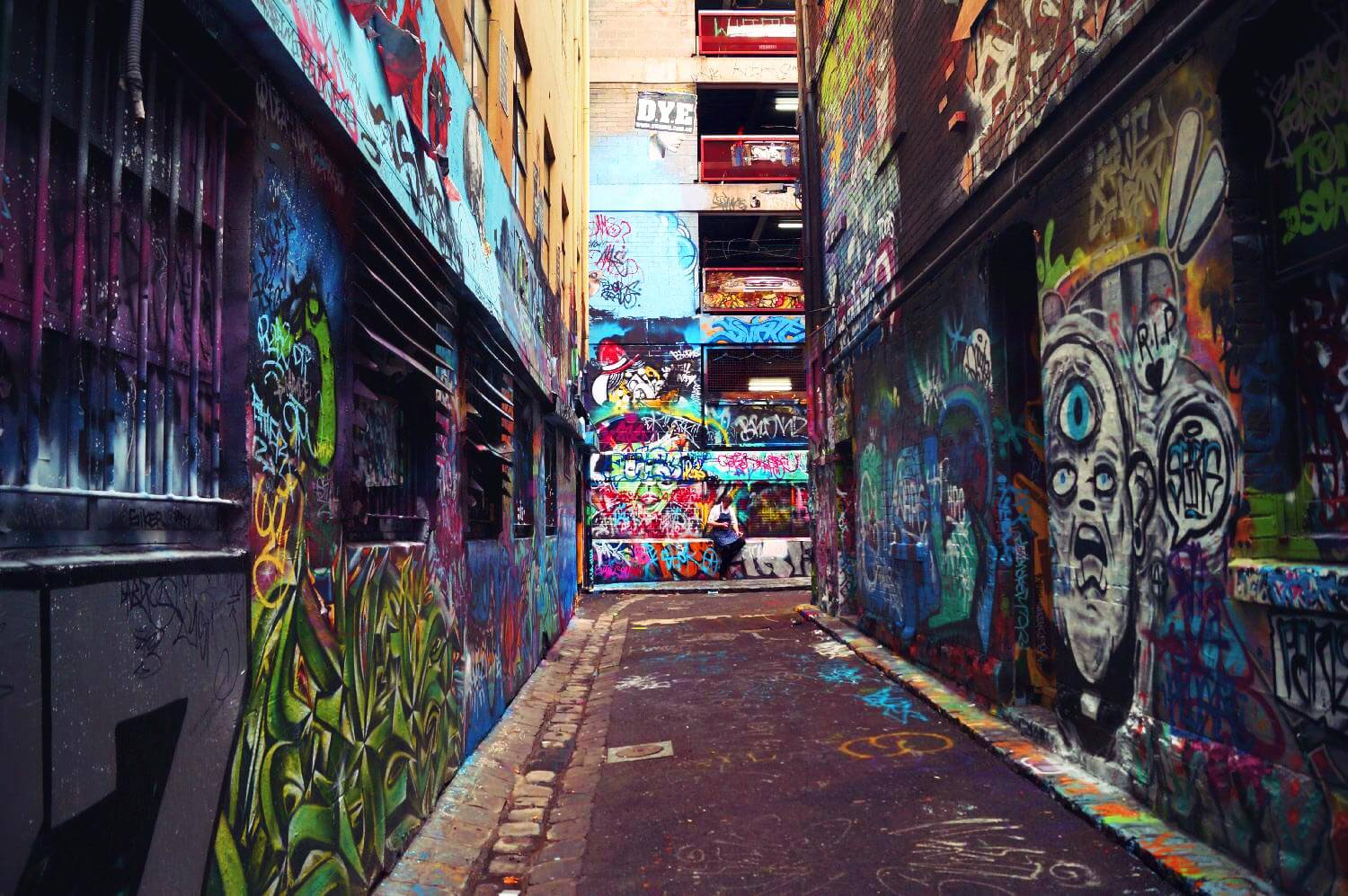 Hosier Lane Melbourne Streetart