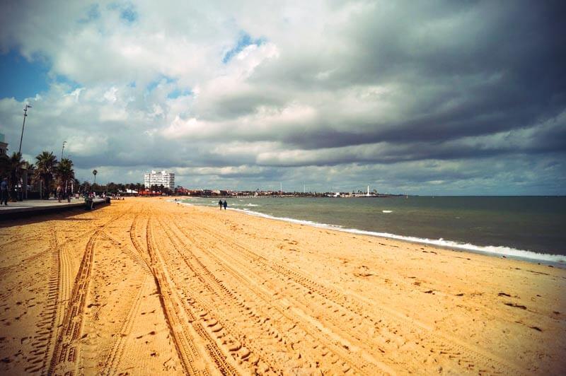 St. Kilda Strand Promenade in Melbourne