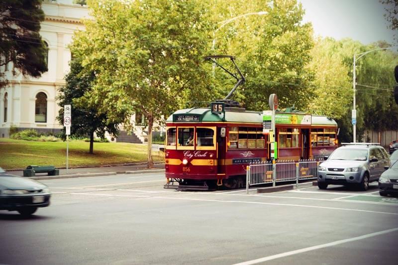 Tram in Melbourne