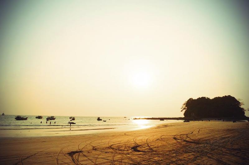 Ngwesaung Lovers Island