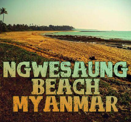Myanmar Strand Ngwe Saung Beach