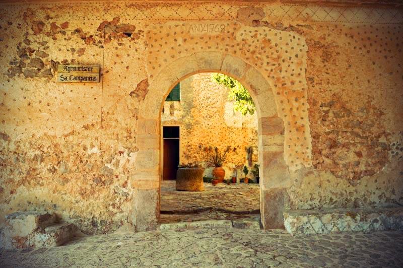 Casa Rural Sa Campaneta Eingang