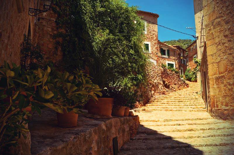 Fornalutx das schönste Dorf in Spanien