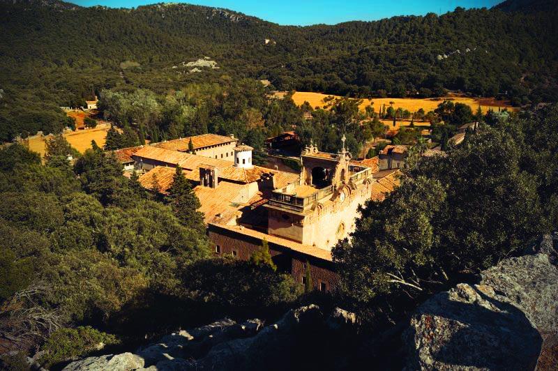 Kloster Lluc von oben