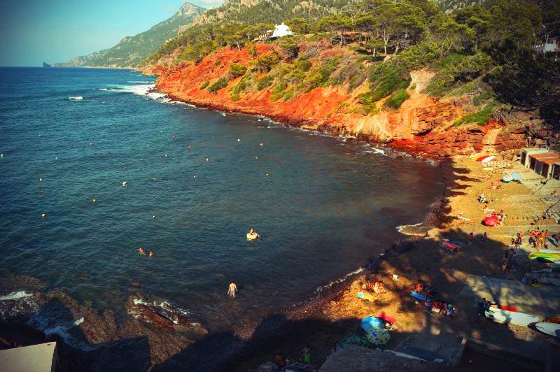 Strand von Port de Canongne Mallorca