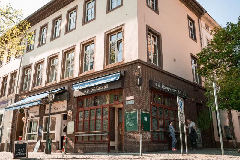 Duesseldorf tips Kreuzherrenecke ratinger strasse