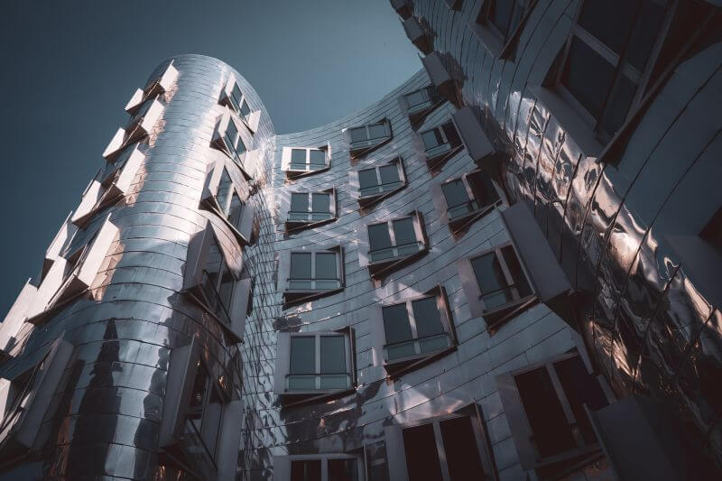 Düsseldorf Sehenswürdigkeiten Gehry-Bauten