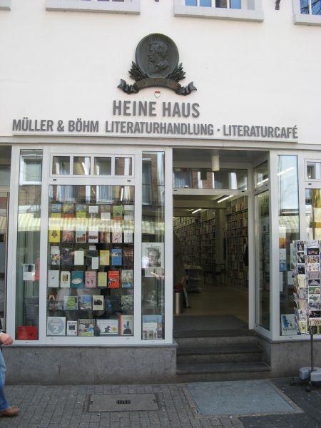 Birthplace of Heinrich Heine in Düsseldorf
