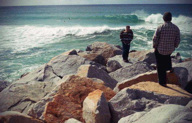 Surfspot in Narooma
