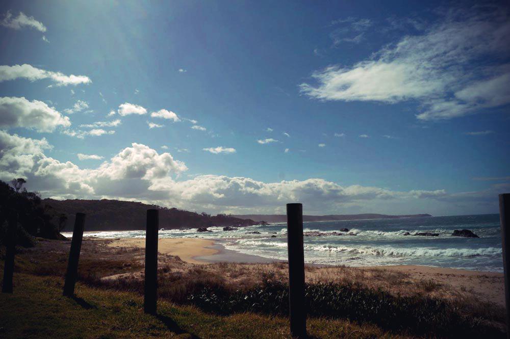 Küste im Südosten von New South Wales in Australien