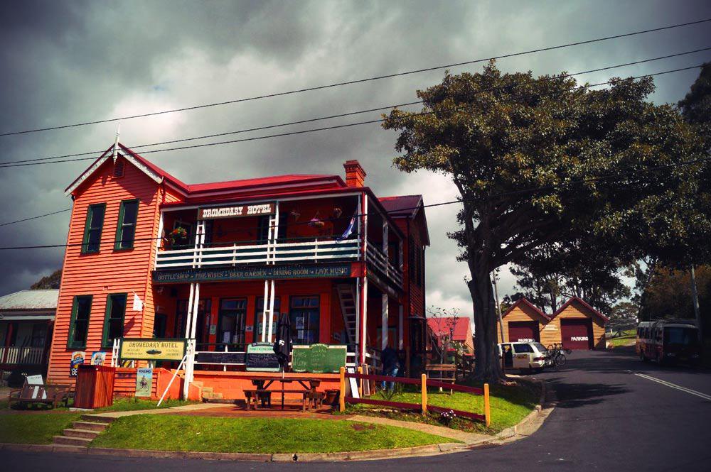 Dromedary Hotel außenansicht in New South Wales in Australien