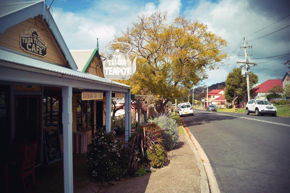 Tilda nahe Narooma in New South Wales in Australien
