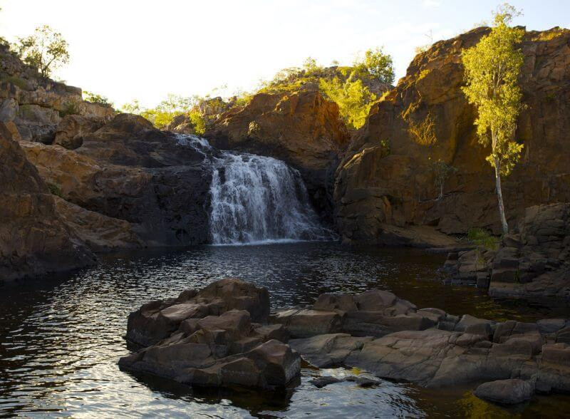 Wasserfälle Edith Falls in Katherine