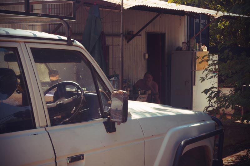 Einwohner in Katherine in Australien