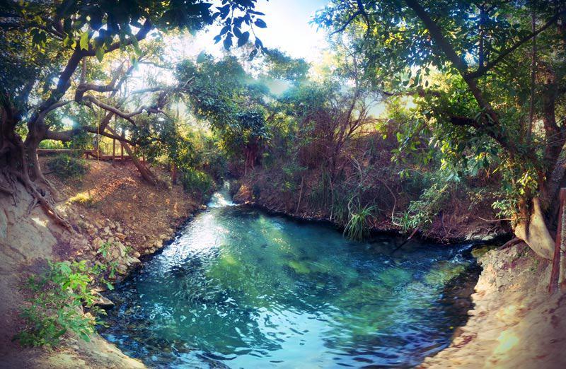 Katherine Hot Springs oberer Pool