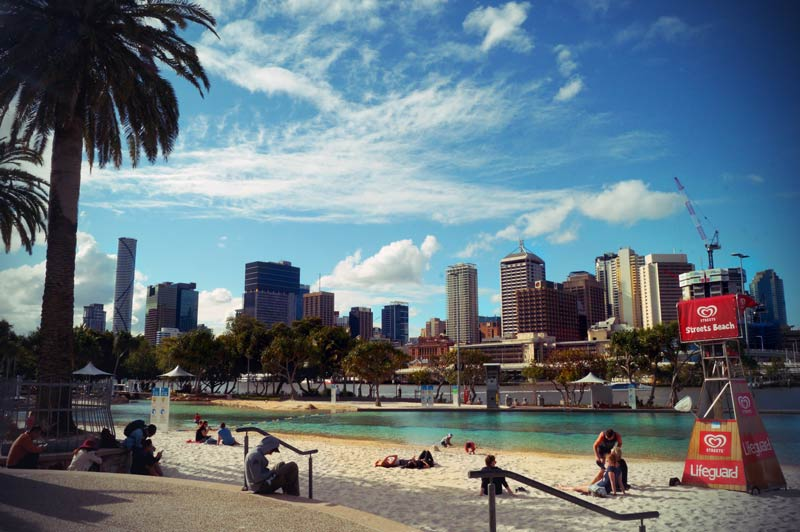 Brisbane Southbank Strand