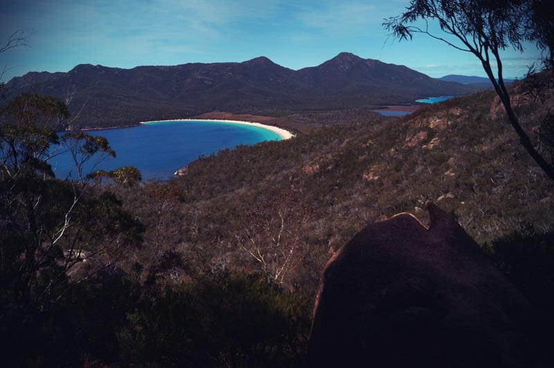 Wineglas bay Tasmanien
