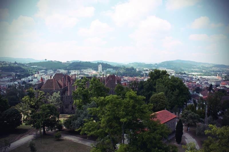 Guimares Stadt nördlich von Porto