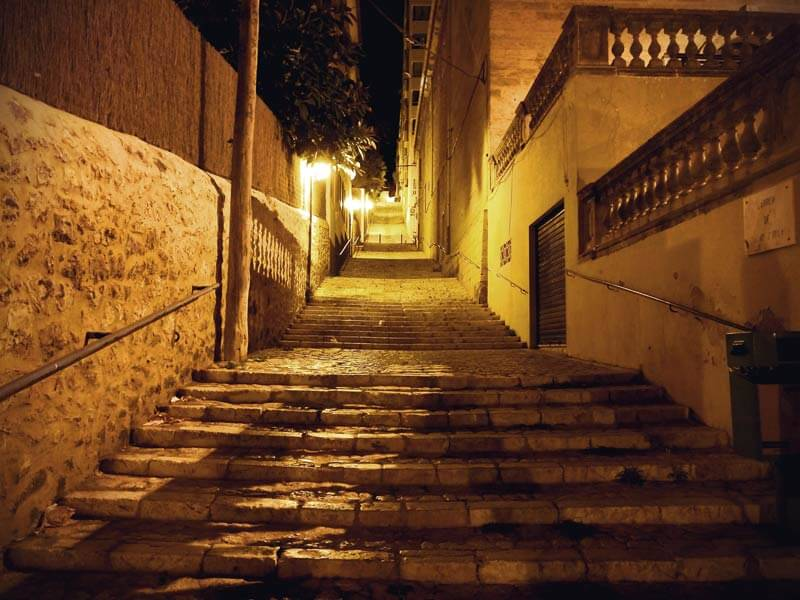 Palma Treppe in El Terreno