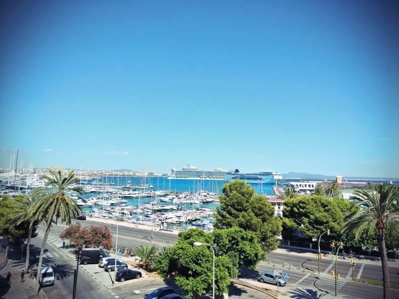 Palma Hafen Porto Pi