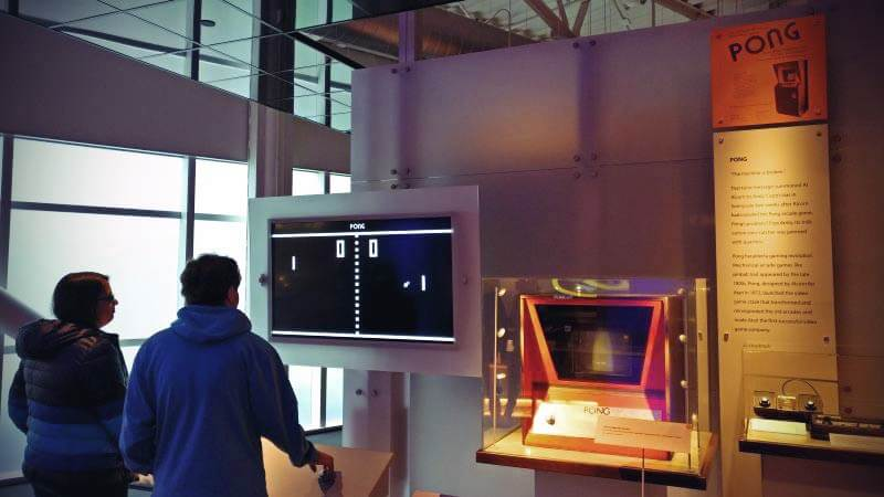 Pong History of Computing Museum