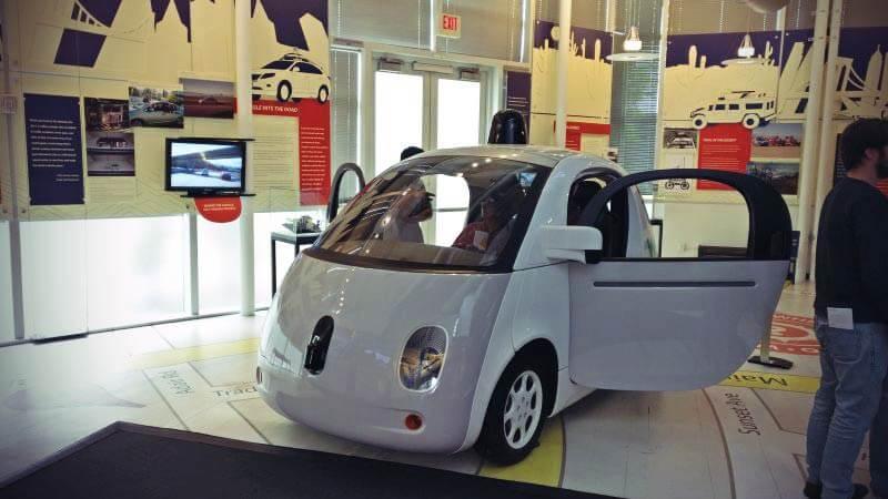 selbstfahrendes Auto Google
