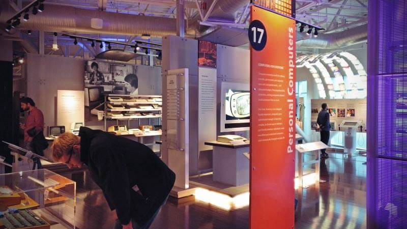 Ausstellung History of computing museum silicon valley