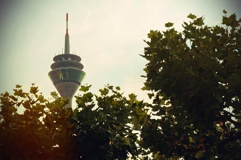duesseldorf attractions Rhine Tower
