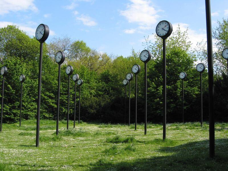 Zeit feld Uhren