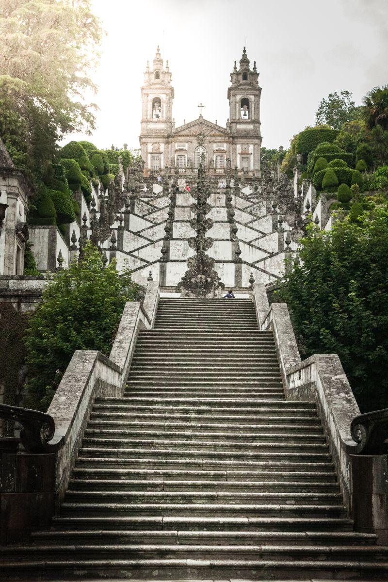 Jesus Bom de Monte Brage Treppe