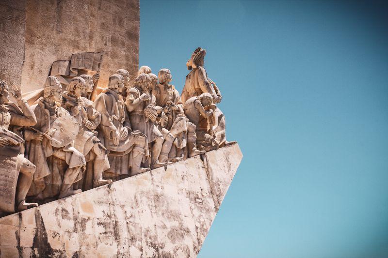 Portugal Sehenswürdigkeiten Belém Denkmal Padrão dos Descobrimentos